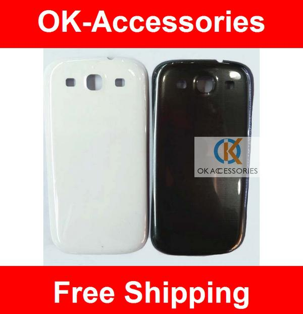 Buy Black/White Color Samsung Galaxy S3 I9300 Battery Door Back Cover 1PC/Lot
