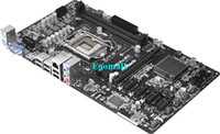 Wholesale ASRock H61 PRO BTC Motherboard with X PCI E Slot sata Proffessionnal professional mainboard for Power up