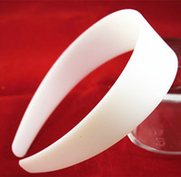 Wholesale 40mm ABS Plastic Fitting White plastic hair accessories Hair accessories plastic accessories