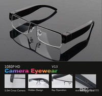 None No  FULL HD 1080P hidden camera glasses camera NEW video recorder HOT mini dvr sunglass V13 eyewear dv support TF card camcorder