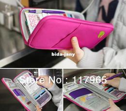 2017 mélanger le cas de la mode Min.order est de 10 $ (ordre de mélange) Mode HOT Holder Voyage Journey Fabric Passport Card ID Case Cover Wallet Purse Organizer DY66 budget mélanger le cas de la mode