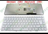 Nouveaux claviers portables pour Sony Vaio VGN-NW Series blanche (avec cadre en argent) Allemand GR Deutsch DE QWERTZ Version - 148738021