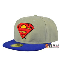 Wholesale Seen SUPERMAN SUPERMAN adjustable NY baseball hat man ms han edition summer tidal flat along the hip hop dance han edition