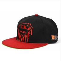 Wholesale Seen SUPERMAN SUPERMAN adjustable NY baseball hat man ms han edition summer tidal flat along the hip hop dance han edition