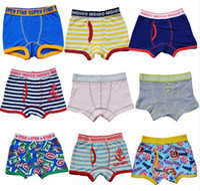 Wholesale Baby Boxer Boys Boxer Breathable Cotton Whorl Kid Boxer High Stretch Many Color Random Send Six Sizes Children s Underwear Great Workmanship