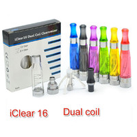 Origine Innokin iClear 16 atomiseur double bobine chef iClear 16 réservoir Clearomizer Fit Innokin VV iTaste MVP SVD 134 Cigarette électronique