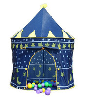 Tents Animes & Cartoons Polyester Ultralarge Children Beach Tent, Baby Toy Play Game House, Kids Castle Indoor Outdoor Toys Tents Christmas Gifts JZ111