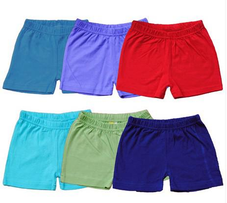 High Quality Cotton Shorts Infant Baby Boy Shorts Bright Color Six ...