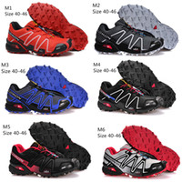 Wholesale 2014 New Arrival Salomon Speedcross Athletic Running Shoes Men s Outdoor Sports Shoes Sneakers Size Hot Sale