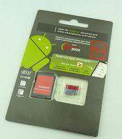 TF tarjeta de memoria SD Card 10 Micro Memory 64 GB Clase con menor libre del paquete de ampolla Android Robot Gris Clase 10 de DHL EL EMS libre de la impresión roja