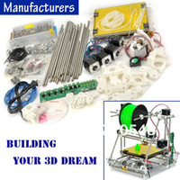 Wholesale Open Heacent RepRap Prusa Mendel DP02 D Printer DIY Full Assembly Kit mm Nozzle mm Filament