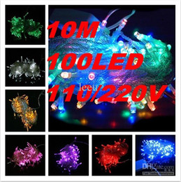 Wholesale 2015 best top sale Beautiful color lamp LED M colorful String Fairy Light XMAS Christmas Party Wedding lights Twinkle lights