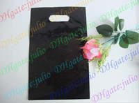 Wholesale New brand makeup bag Plastic bags Black bag
