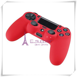 Wholesale Best quality New Soft Silicone Protective Sleeve Case Skin Cover for PlayStation PS4 Xbox one Controller factory E_supplier via epacket