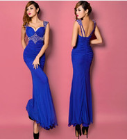 Cheap Model Pictures Formal dresses Best Sweetheart Spandex Party dresses
