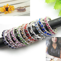 Wholesale Rings Elastic Rings fashion rings China jewelry Cheap Rings Fashion Rings Mix Order White Various colors
