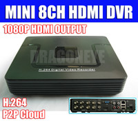 Mini mobile dvr - Mini ch standalone CCTV DVR with HDMI D1 Recording ch D1 and ch CIF Mobile Phone visit