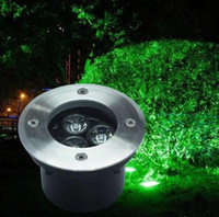 Wholesale factory direct sale x3W LED underground light IP67 Buried recessed floor outdoor lamp DC12V V OR AC85 V