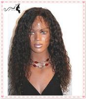 Natural Color Brazilian hair kinky curl Wholesale cheap human hair wigs glueles brazilian wigs with bangs kinky curl for black women free shipping
