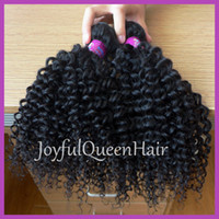 Wholesale Queen hair vendors unprocessed virgin mongolian kinky curly human hair bundles curly hair weaving quot
