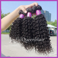 Wholesale Gorgeous Indian remy human hair kinky curly weave afro kinky human hair for braiding