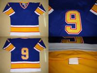 Cheap Ice Hockey St. Louis Best Men Full 9 Doug Gilmour