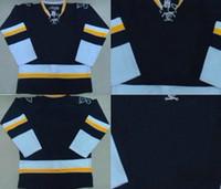 Ice Hockey Men Full Cheap St. Louis Jerseys Blank No Name No Number Hockey Alternate Third Dark Blue Jersey Authentic On Field Winter Sportswear High Quality