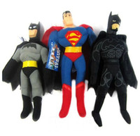 Wholesale High Quality CM height Superman Batman stuffed Plush Toys STYLE