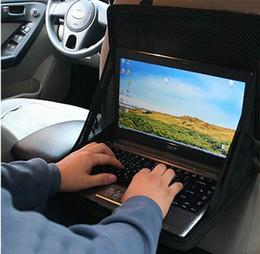 On-board Computer Support Car Computer Desk Car Laptop Holder Desk Dining Table Folding Car Computer Holder Desk Mount Glove Bag