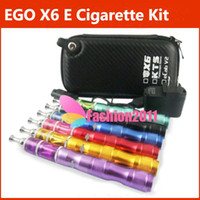 New eGo X6 E cigarette with Protank2 Atomizer or VIVI NOVA A...