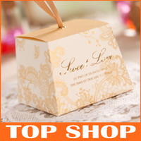 Favor Bags Red Paper Favor Holders Wedding Organza Gift Bag Wedding Candy Box Favor