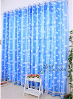 Wholesale Curtain curtain fabric window screening child real cloud blue sky curtains