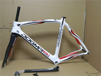 Wholesale White Red Pinarello DOGMA Think Bicycle Frame carbon road bike frame Full carbon fiber bike frame fork
