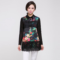 Men 100% Linen Long Sleeve shirt Shoppes stylish silk floral Spring 2014 Poetry Man Sha Y14A021