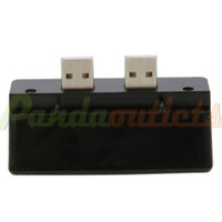 Wholesale Mini to Port USB HUB USB Extension for PS3 Black sku
