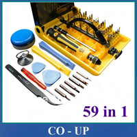 Electricity Hand Tools,Combination,Screwdrivers 45 IN 1 Free shipping Wholesale Cheap 59 in 1 Screwdriver Set for Phone Laptop Repair