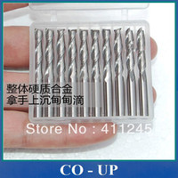 Wholesale Flutes Carbide Mill Spiral Cutter L3 Wood CNC Router Bits Cutting Tools for CNC Machine Engraving