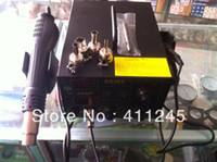 Electricity 220V 3.8kg Free Shipping 220V Saike 852D+ Hot Air Rework Station Hot air gun soldering station BGA De-Soldering 2 in 1