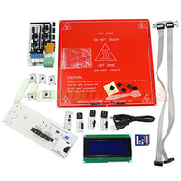 Cheap Elecfreaks Mega2560 Ramps Shield Stepstick SDramp DIY 3D Printer Ramps Kit#2101304