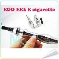 Electronic Cigarette electric cigarette - EE2 Electronic Cigarette Kit EE2 E cigarette Starter Kit Cucurbit eGo Kit ee2 Electric Cigarette Single Kit Zipper Case