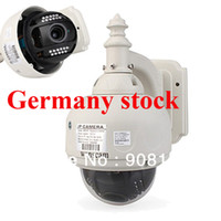 Wholesale Germany stock IP kamera quot PTZ CCTV Wireless WaterProof Outdoor Wanscam IP Camera X Optical Zoom IR Cut WiFi