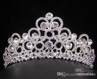 Cheap Tiaras&Crowns crystal veil Best Rhinestone/Crystal  wholesale wedding