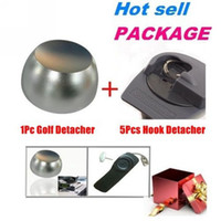 Wholesale Universal Security Handheld Sensormatic EAS Hard Tag Hook Detacher Remover pc Golf Detacher