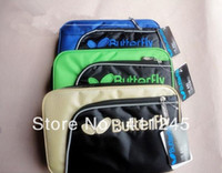 Wholesale Butterfly TBC Table Tennis Bat Bag Double Layer Colors Available