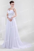 Cheap Model Pictures Chiffon Party Dresses Best Court Train Chiffon Beaded Evening Dress