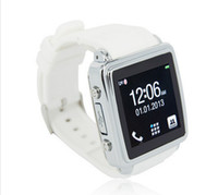Wholesale Watch Mobile Phone Smart Watch SIM Card quot touch screen Bluetooth MQ588 Sync MP3 MP4 Camera