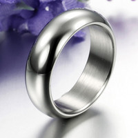 New Korean Style 316L Stainless Steel Ring General Simple st...
