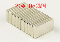 Wholesale 100PCS Block magnet x x mm powerful magnet craft magnet neodymium rare earth neodymium permanent strong magnet n50 n52