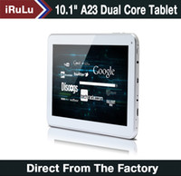 "Ship from USA! iRuLu 10. 1"" Android 4. 2 A23 White Tablet..."