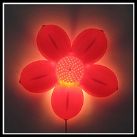 Wholesale 2014 New Cartoon Cute Flower Wall lamp children Room Lighting Decorations indoor light decorative light bed lamp night light Wall Decoration